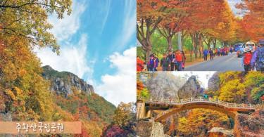 走進浪漫迷人的楓葉世界~秋天必到周王山國立公園觀賞紅葉!